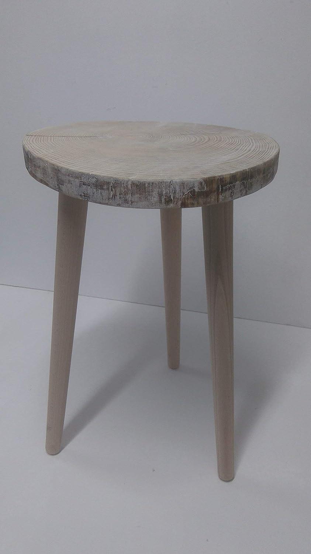 Rebajas oferta mesita loncha y patas de madera rodaja tocon ...