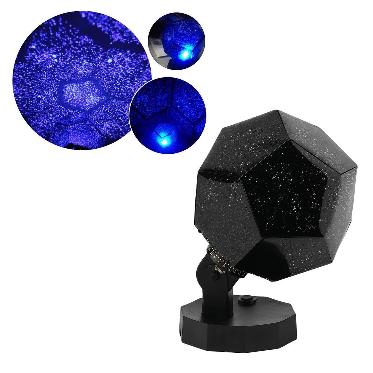 Lorenlli Proiettore a luce stellare Super-Light Proiettore a luce Quinta generazione Luci a LED a 3 colori