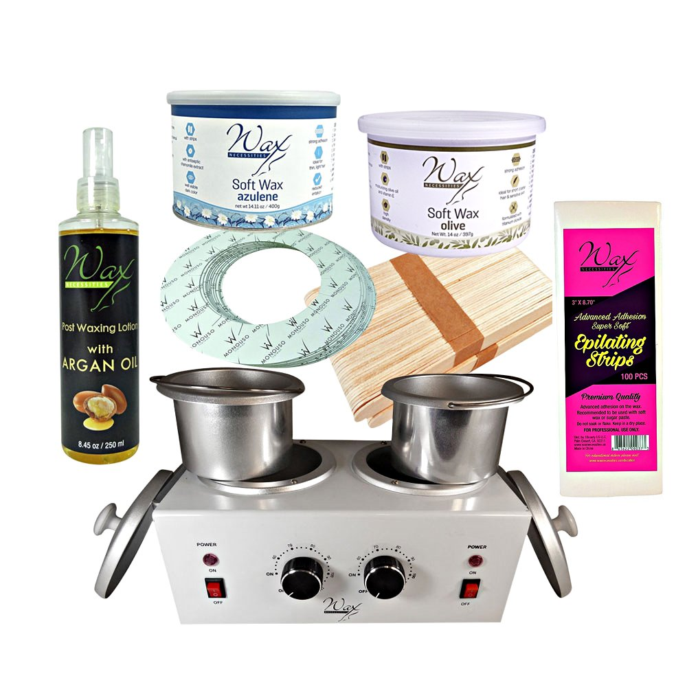 Wax Necessities Professional Strip Waxing Kit