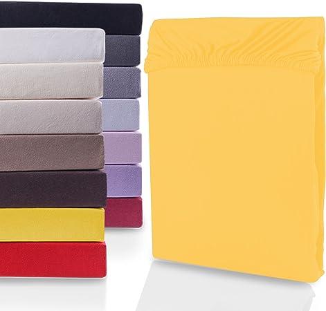 Sábana bajera ajustable 100 % algodón de DecoKing, White Nephirte ...