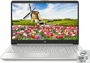 "HP 15.6"" HD Intel 10th Gen i3-1005G1 3.4GHz 4GB RAM 128GB SSD Webcam Windows 10 Laptop (1W830UA)"