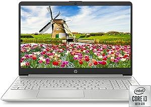 "HP 15.6"" HD Intel 10th Gen i3-1005G1 3.4GHz 4GB RAM 128GB SSD Webcam Windows 10 Laptop (1W830UA)"