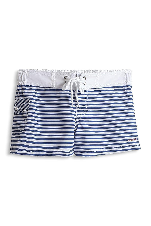 ESPRIT Bodywear Damen Badeshort, gestreift 994EF1A911/MANLY BEACH, Gr. 44,  Blau (485): Amazon.de: Bekleidung