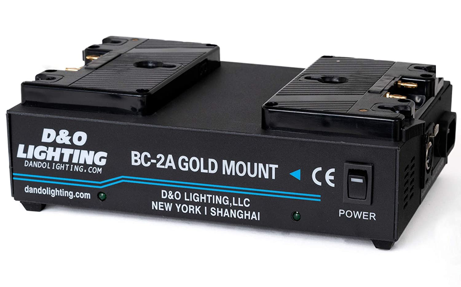 Dual Channel Anton Bauer Gold Mount Battery Kit Charger with 16.8V Power Supply Output Comer BC-C2A