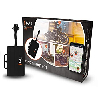 Motorcycle Finder de PAJ - Marca Alemana - GPS Localizador - Tracker Antirrobo para Moto - Variante localización con App