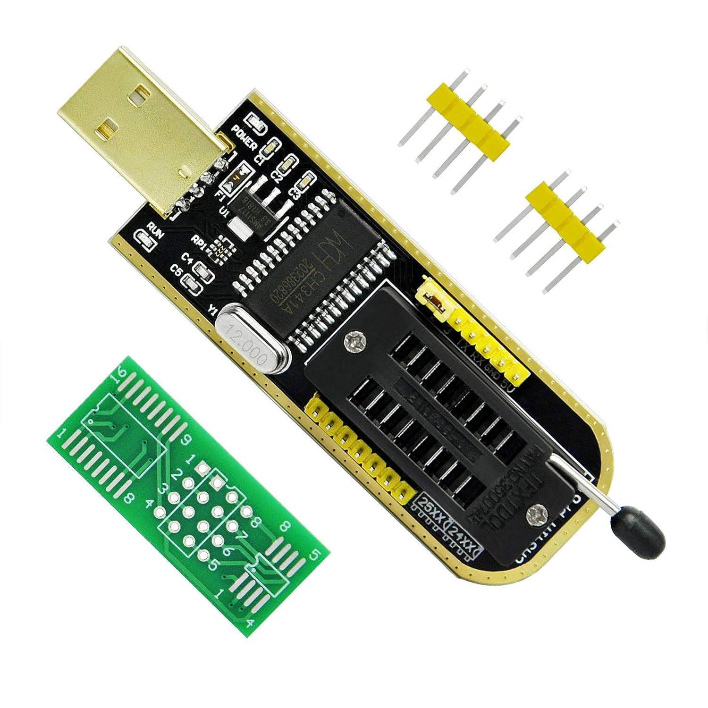 Gikfun USB Programmer CH341A Series Burner Chip 24 EEPROM BIOS Writer 25  SPI Flash AE1185