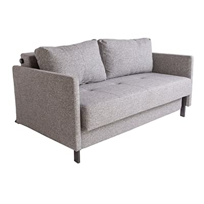 Control Brand Eriksen Twill Black Sleeper Sofa