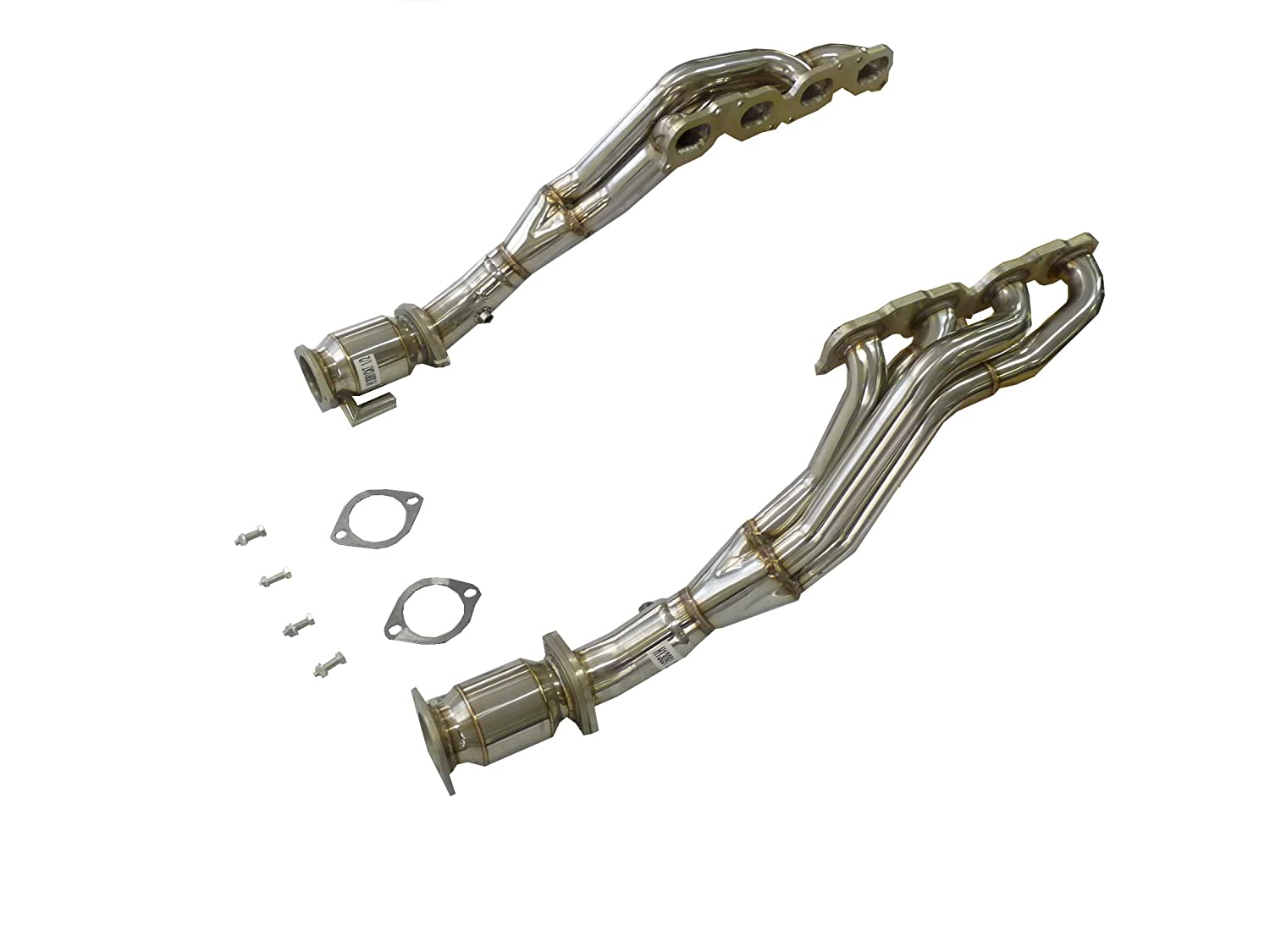 OBX Performance Catted Long Tube Exhaust Header Manifold Mercedes
