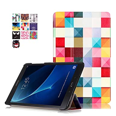 new arrive ffb06 485b2 Galaxy Tab A6 10.1 Cover,Protective Case for Samsung T580N - Folding Stand  Cover Leather Case Flip Tablet Protection for Samsung Galaxy Tab A 10.1 ...