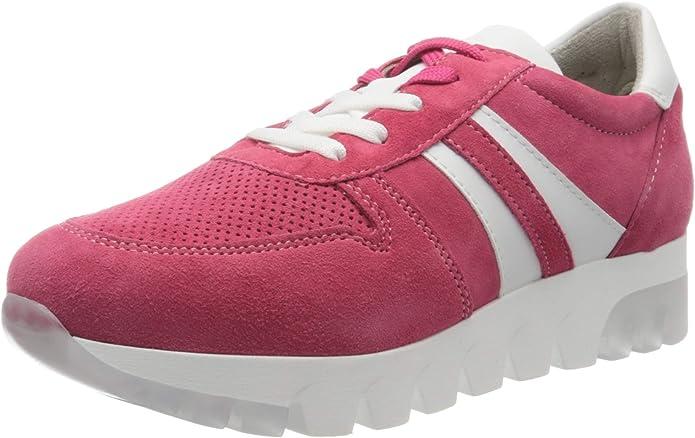 Tamaris Sneakers 23750-24 Damen Rosa Pink Suede