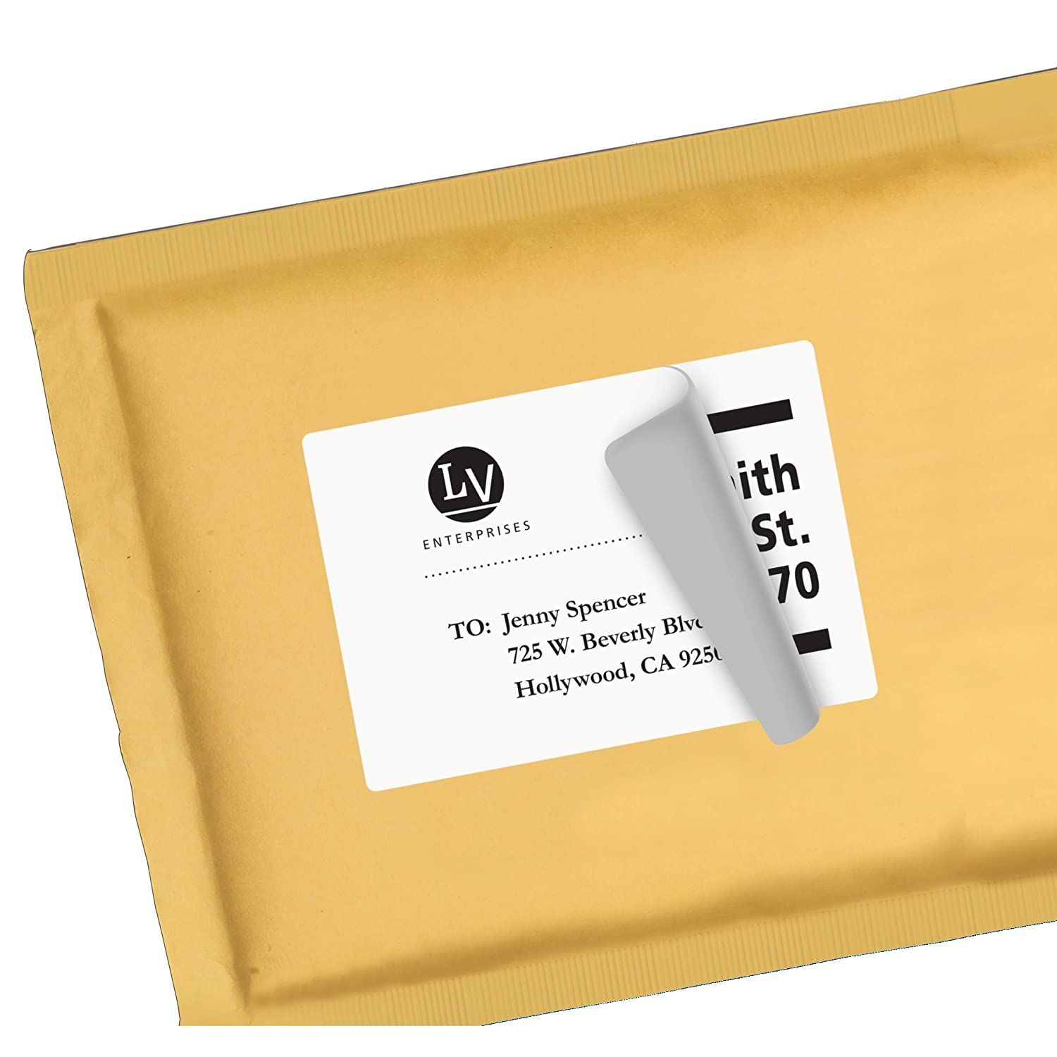 Amazon.com : Avery Shipping Labels with TrueBlock Technology for ...