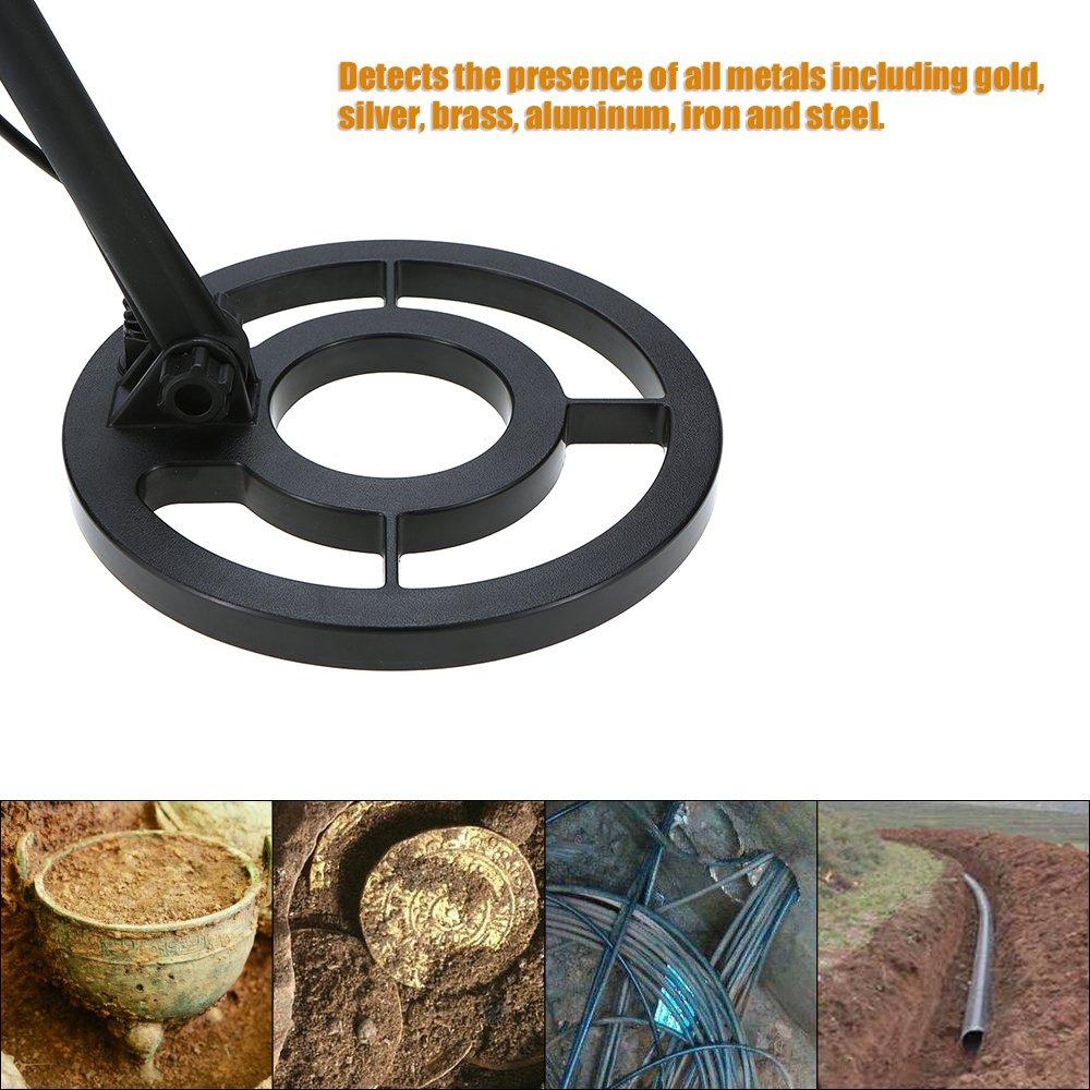 Wolketon Metalldetektor Hohe Empfindliche Pr/äzision Gold Silber Metalldetektoren Unterirdischer Schatzdetektor Wasserdicht Metalldetektoren