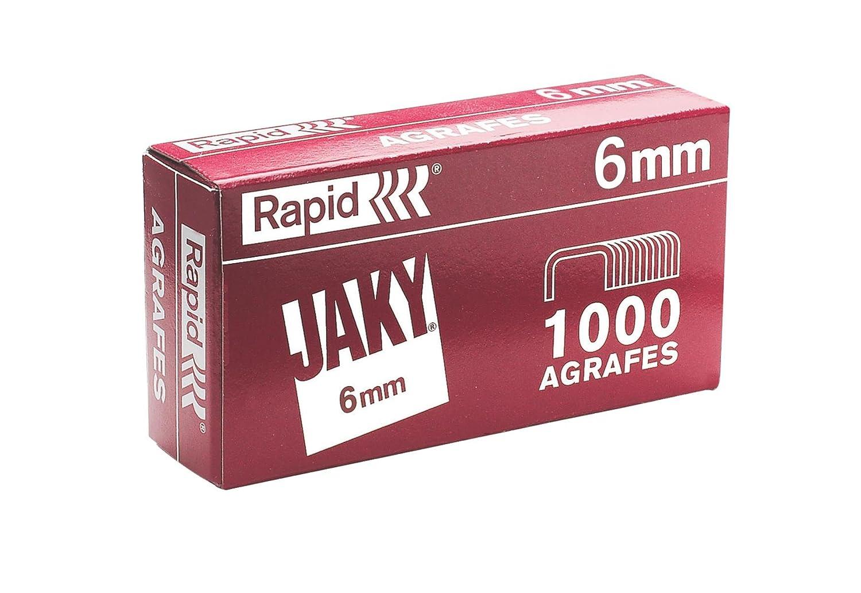 Rapid 11720002Agrafes Jaky 6, cuivré