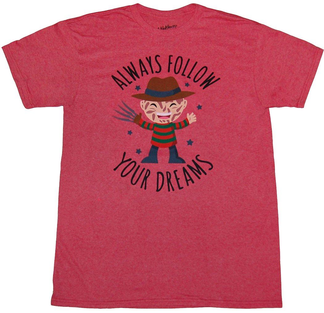Nightmare On Elm Street Freddy Krueger Follow Your Dreams Shirts