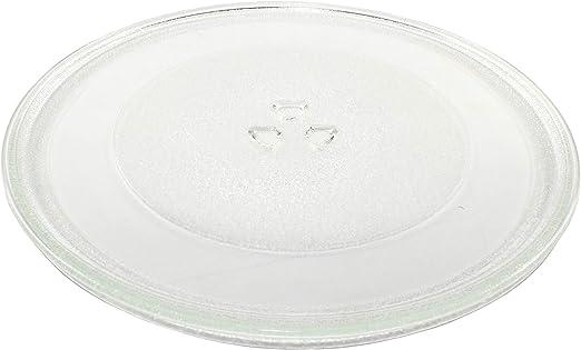 hqrp 12 inch glass turntable tray fits whirlpool w10337247 w11367904 amv1150vad3 amv2174vad6 gmh6185xvb3 imh15xvq4 mmv1164ww4 wmh1163xvb5 wmh2175xvb5