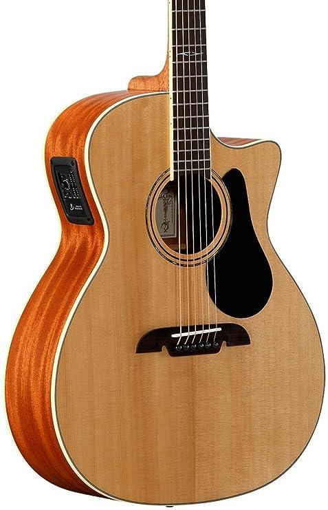 Alvarez 311047 ag60ce Grand Auditorium Electric/Cutaway Guitarra ...