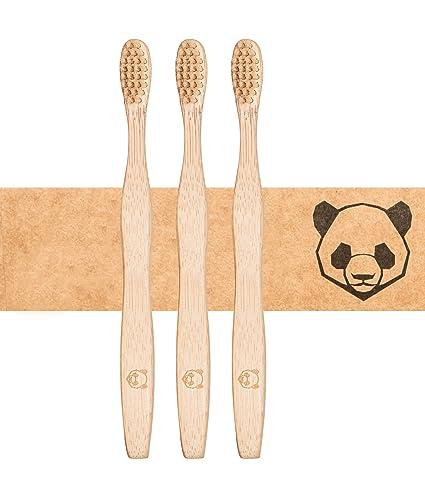 De bambusliebe ✮ Cepillo de dientes de bambú en packs de 1, de