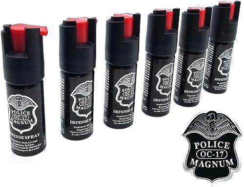 POLICE MAGNUM Pepper Spray For Self Defense