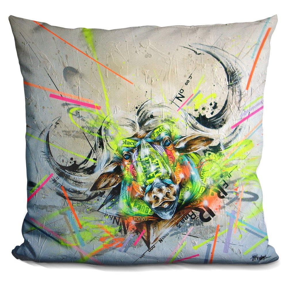 LiLiPi Confront Decorative Accent Throw Pillow