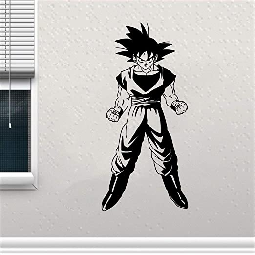 pegatina de pared Dragon Ball tatuajes de pared de dibujos ...