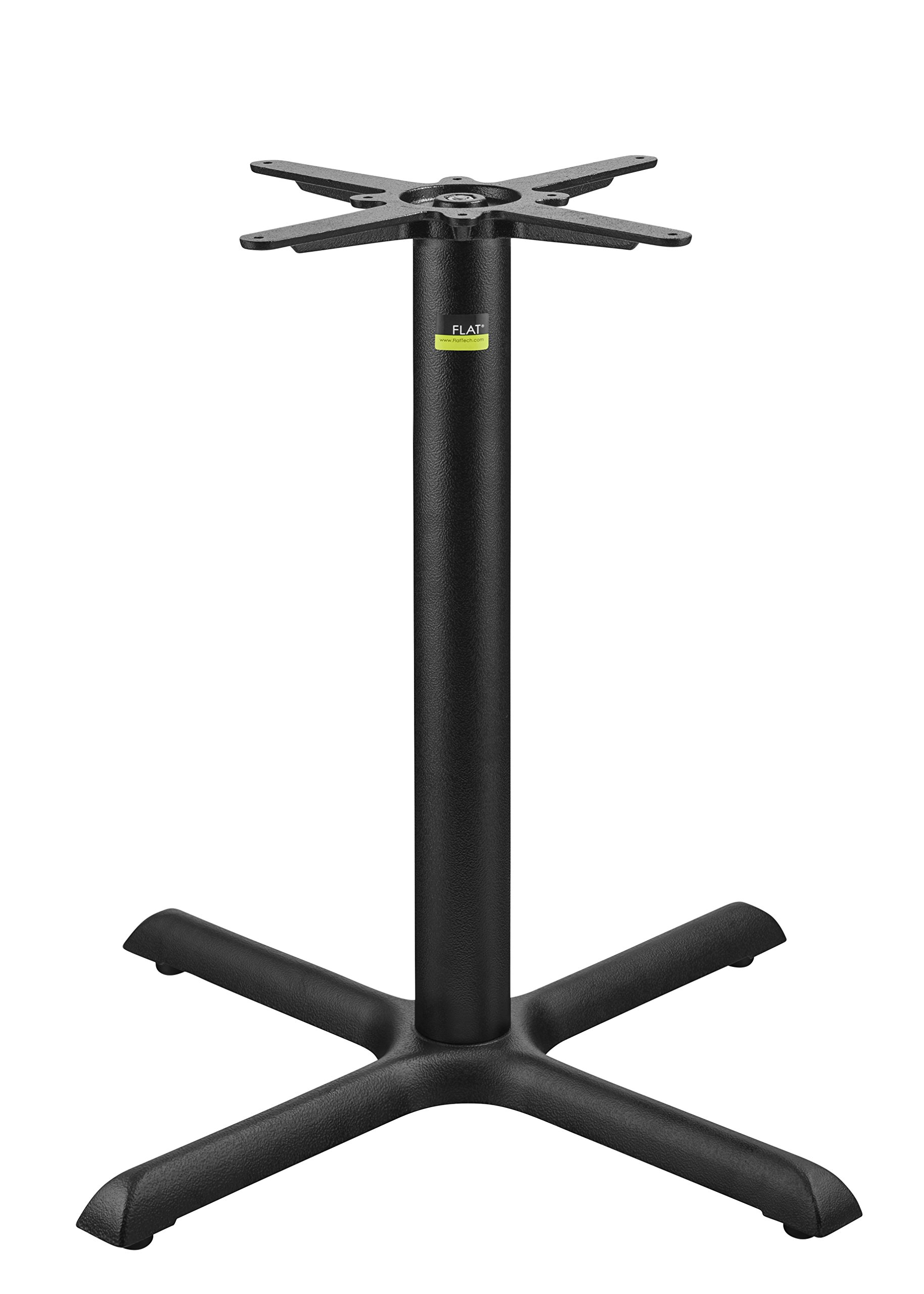 FLAT Self-Stabilizing KX30 (30''), Cast Iron, Dining Height Table Base