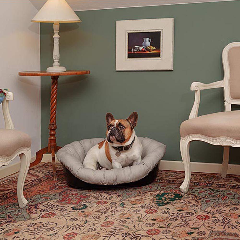 Ferplast cojín Sofá Envolvente, para Cama Siesta Deluxe, para Perro, 52 x 39 x 25 cm, Talla 2