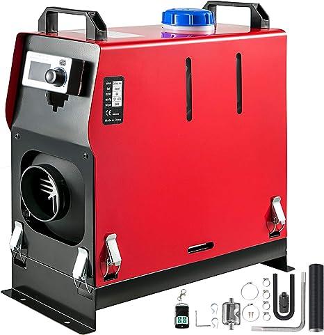 Mophorn Calentador de Diesel 12V 5KW con Transmisión de Voz y 1 ...