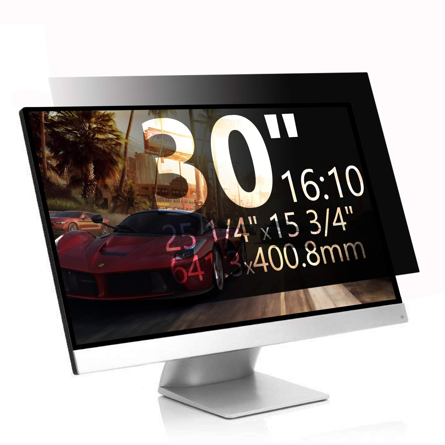 MAYAMANG Privacy Screen Protector 30 Inch 16:10 Monitor, Privacy Filter for Widescreen PC Computer, Monitor Privacy Screen 30 Inch, Anti-Glare Computer Privacy Screen, Monitor Protector