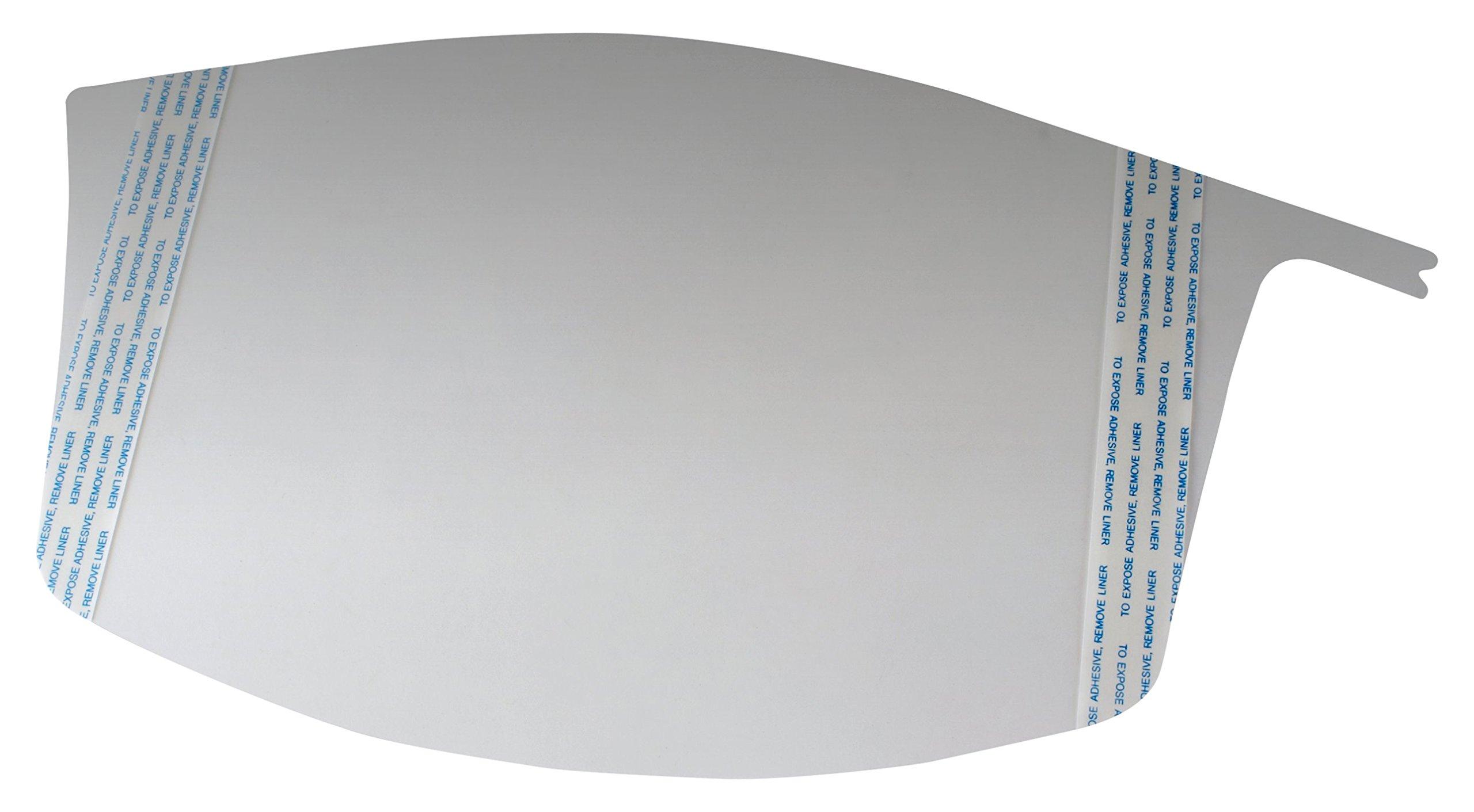 3M Versaflo 37322-case Peel-Off Visor Covers M-926/37322(AAD), for M-925 Standard Visor, 40 EA/Case, Clear (Pack of 40) by 3M