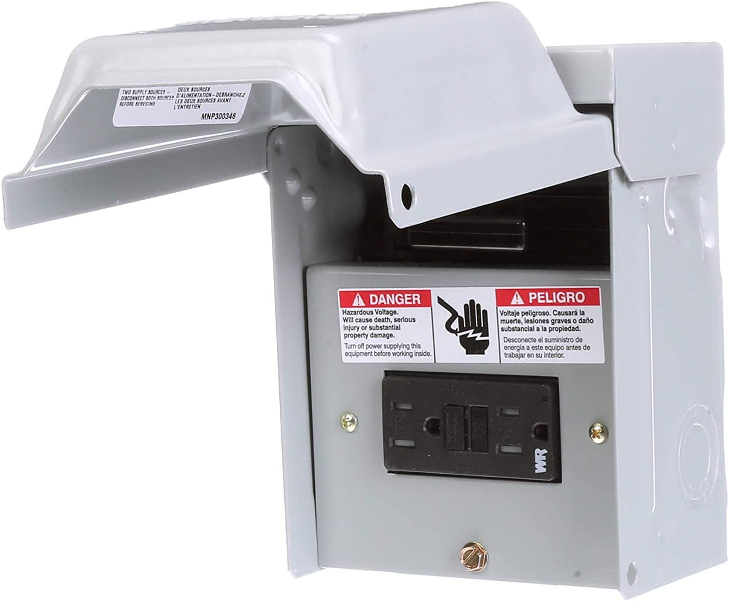 Air Conditioner Power Disconnect Circuit Breaker 60-Amp Non-fusible Outdoor NEW