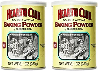 product image for Clabber Girl Hearth Club Baking Powder, 8.1 oz. (2 Pack)