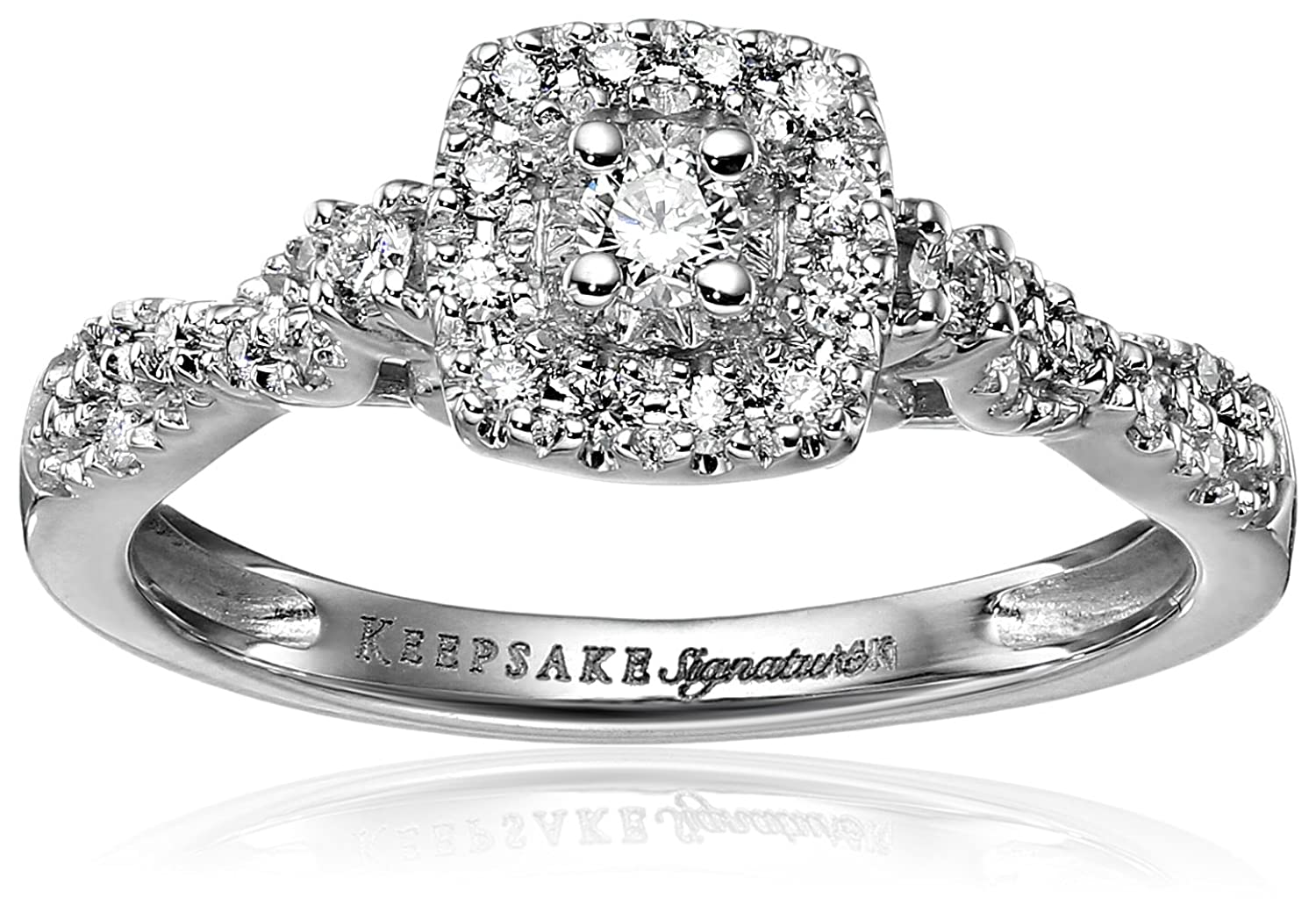 halo image diamond daussi design item henri cut bands engagment cushion engagement rings