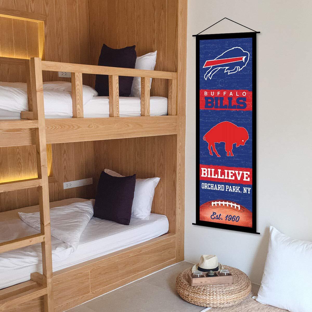 Buffalo Bills Banner and Scroll Sign