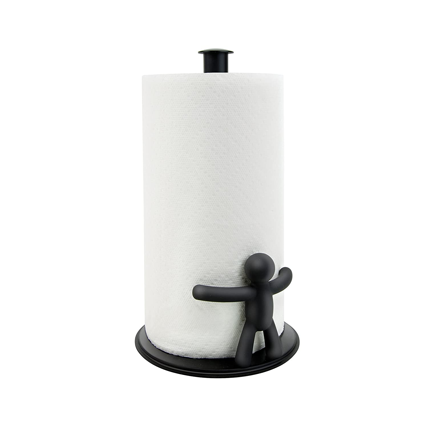 Top Amazon.com: Umbra Buddy Paper Towel Holder, Black: Home & Kitchen TR77