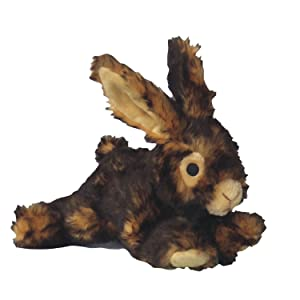 Plush Rabbit Dog Toy by Pet Lou