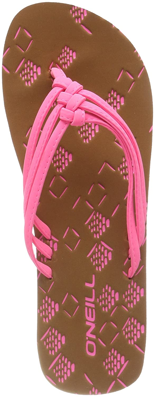 ONeill Damen FW 3 Strap Ditsy Flip Flops Zehentrenner  42 EU|Pink (4091 Shocking Pink)