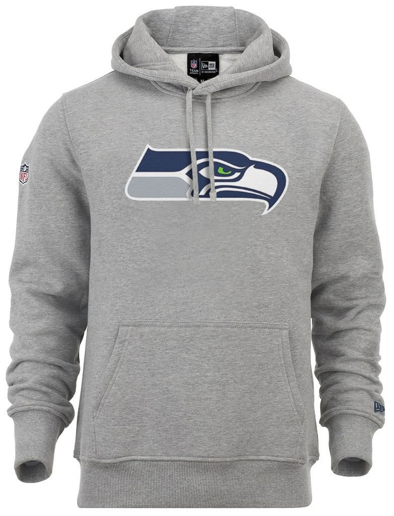 New Era - NFL Seattle Seahawks Team Logo Hoodie - grey