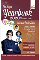 The Mega Yearbook 2020 for Competitive Exams - 5th Edition Paperback