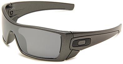 oakley batwolf granite lens black iridium polarized