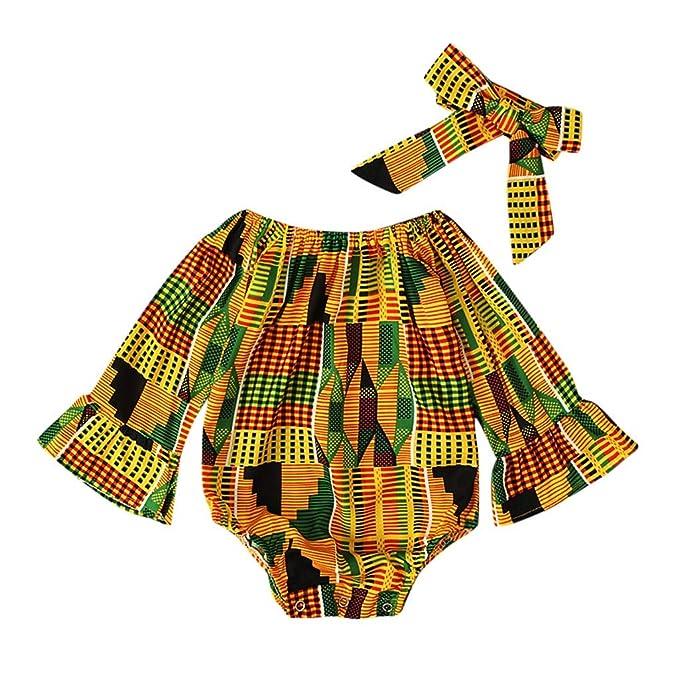 Neugeborenes Baby Baumwolle Volltonfarbe Outfit Langarm Oberteile Hosenanzug