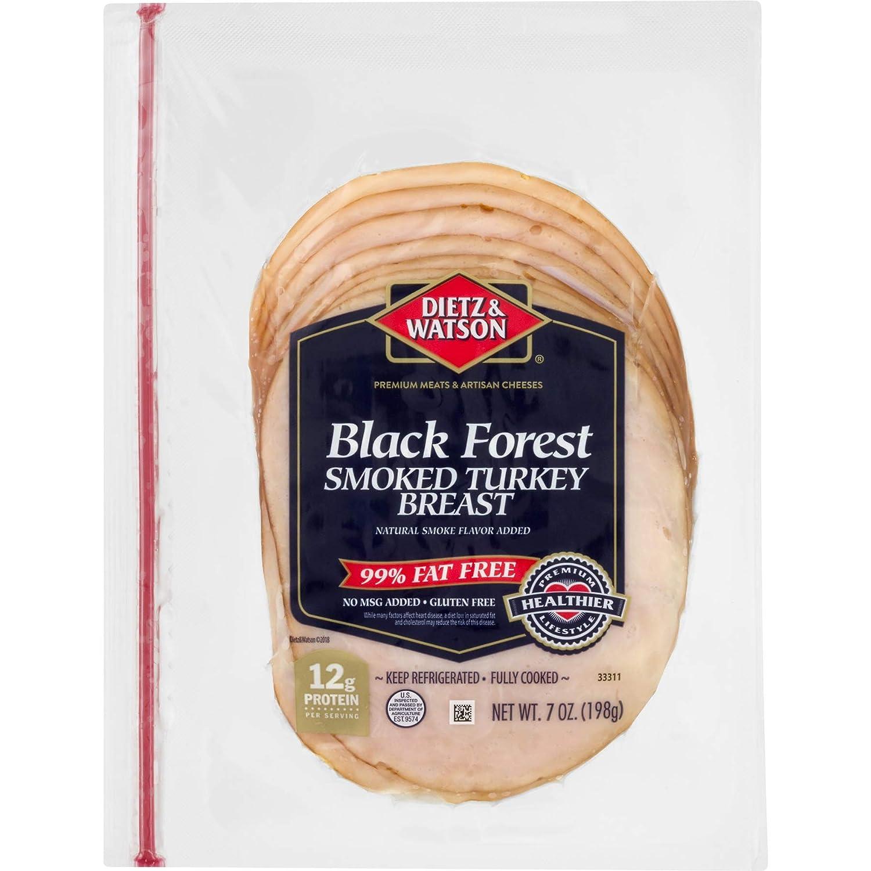 Dietz & Watson Pre-Sliced Black Forest Smoked Turkey Breast, 7 oz