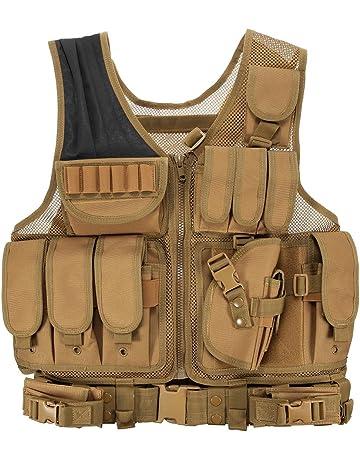 Lixada Chaleco Táctico Militar al Aire Libre Táctico del Ejército de Poliéster Juego de Guerra Airsoft. #2
