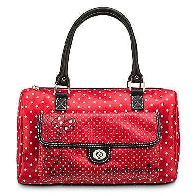 7f09b447675e Disney Parks Minnie Mouse Red Polka Dot Barrel Purse  Handbags ...