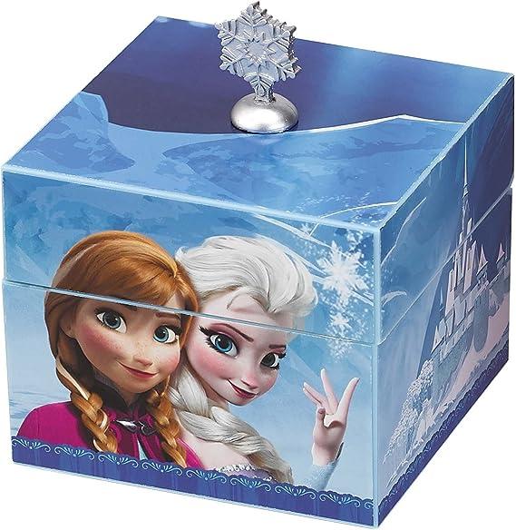 Disney Frozen Anna & Elsa Blue Keepsake Caja de Música: Amazon.es ...