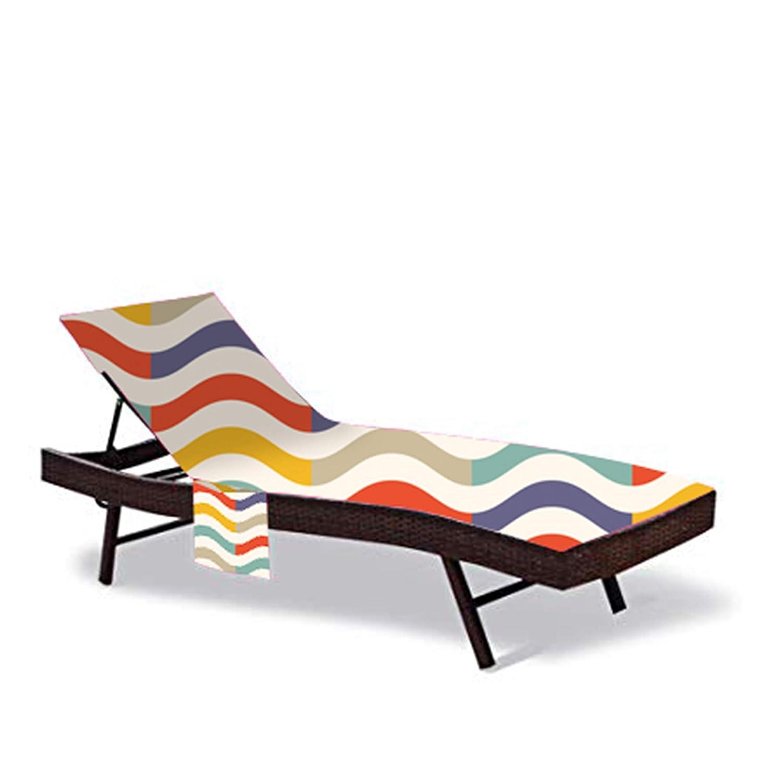 Amazon.com: QEES - Funda para silla de playa de 83,5 ...