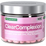 Beauty by Nature's Bounty, Dietary Supplement for Clear Complexion, with Zinc for Immune Support Plus Manganese*, for…