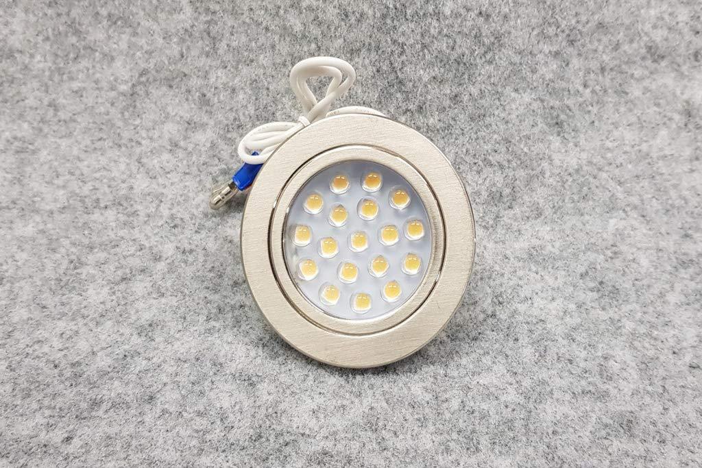 CARAVAN 10 x 12V LED SPOTLIGHTS//DOWNLIGHTER CAMPERVAN MOTORHOME LIGHTING