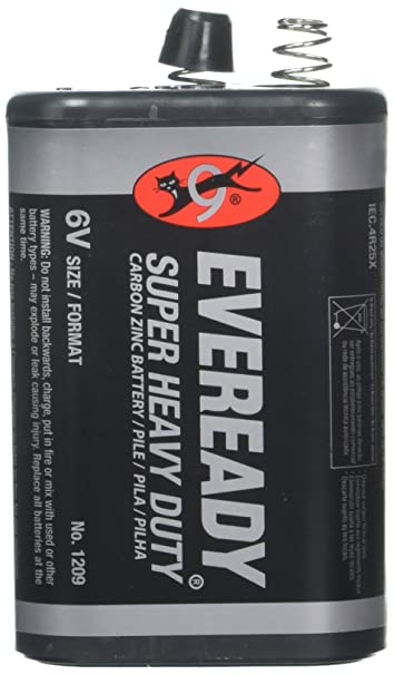 Image Unavailable Not Available For Color Eveready Hd 6v Lantern Battery