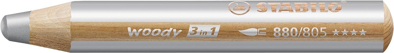 STABILO Woody 3 in 1 matitone colorato colore Oro - Confezione da 5 880/810