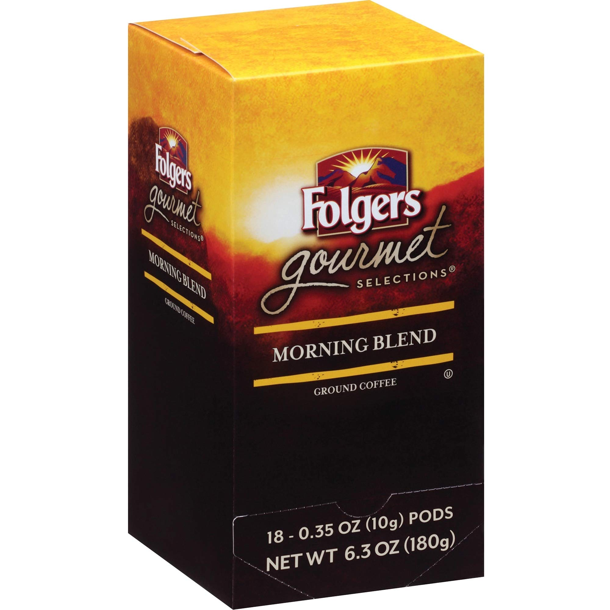 Folgers Gourmet Selections Coffee Pods,6.3 ounce